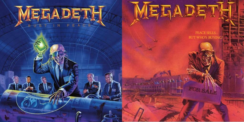 Megadeth Covers Ed Repka